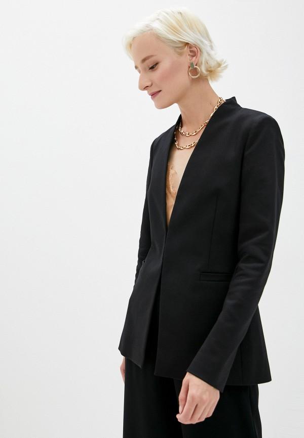 женский пиджак alice + olivia, черный