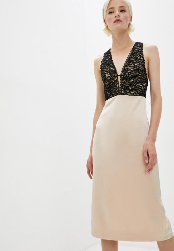 женское платье alice + olivia, разноцветное