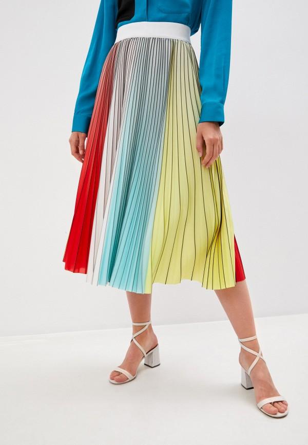 женская юбка alice + olivia, разноцветная