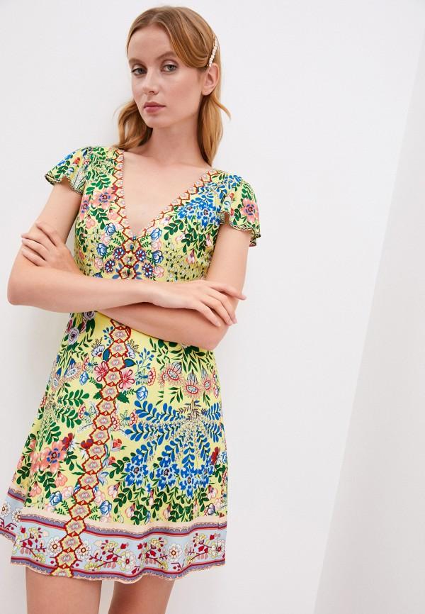 женское повседневные платье alice + olivia, разноцветное