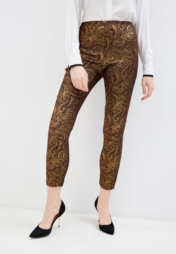 женские повседневные брюки alice + olivia, бордовые