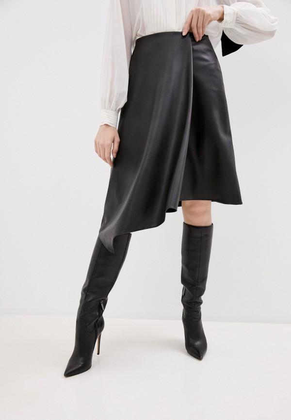 женская юбка alice + olivia, черная