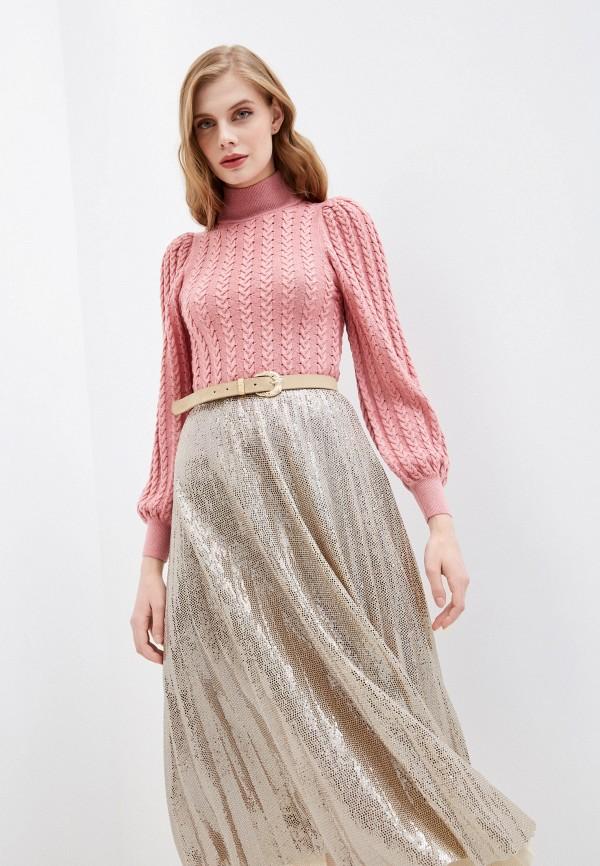 женский свитер alice + olivia, розовый