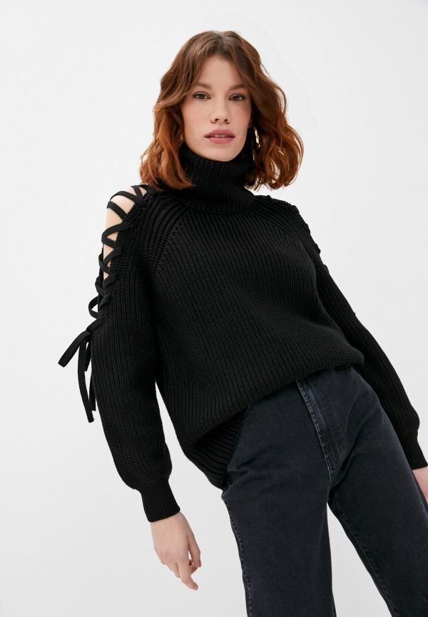 женский свитер alice + olivia, черный