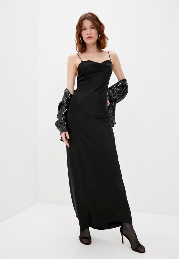 женское платье alice + olivia, черное