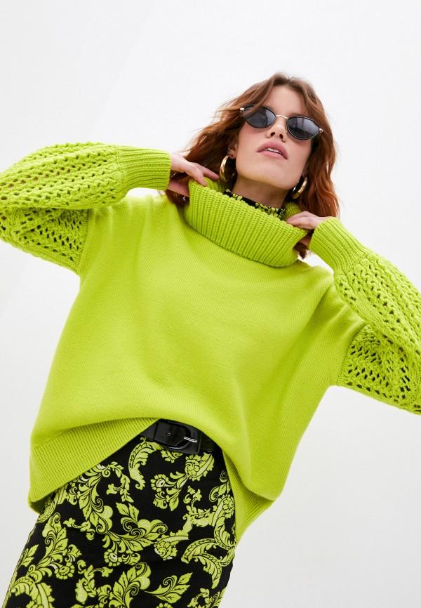 женский свитер alice + olivia, зеленый