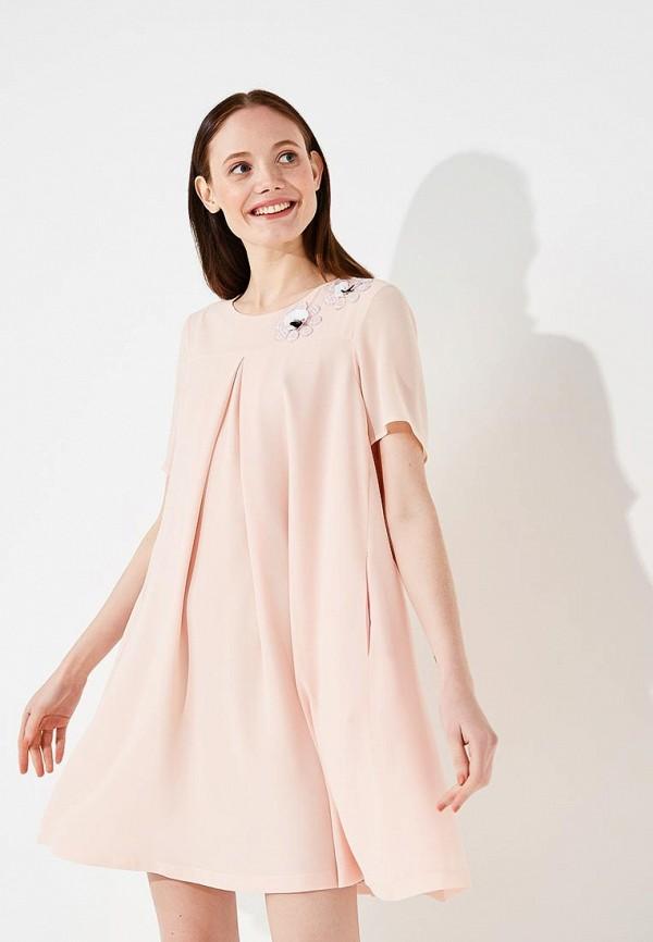 женское повседневные платье alessandro dell'acqua, розовое
