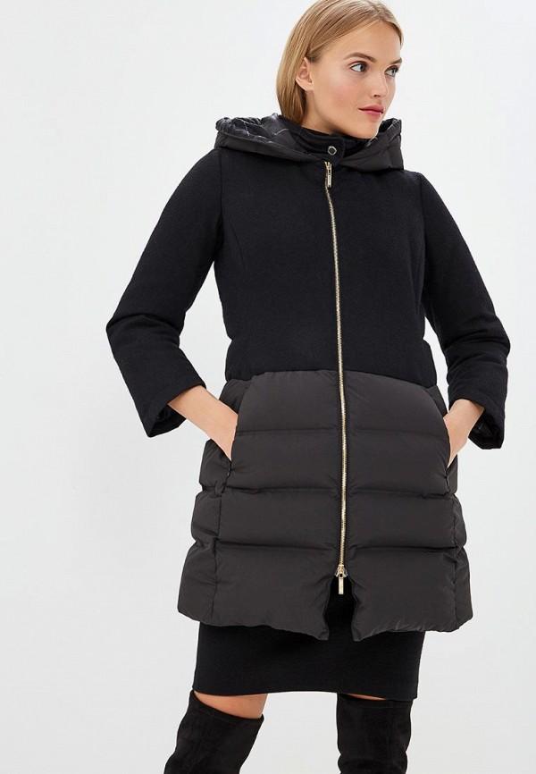 Купить Куртка утепленная Alessandro Dell'Acqua, Alessandro Dell'Acqua AL056EWCFYE1, черный, Осень-зима 2018/2019