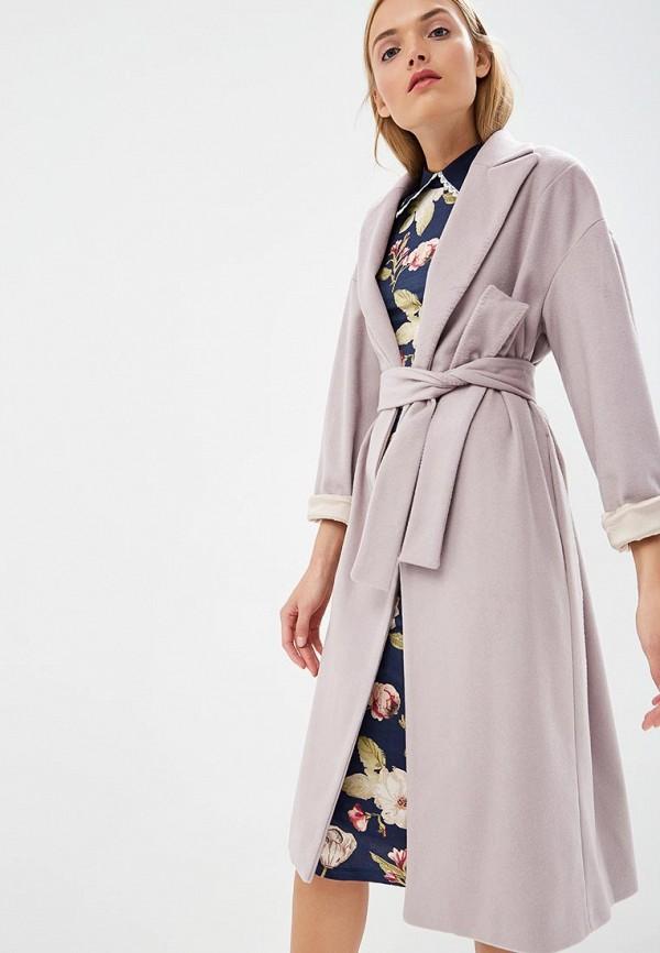 Купить Пальто Alessandro Dell'Acqua, Alessandro Dell'Acqua AL056EWCFYE2, розовый, Осень-зима 2018/2019