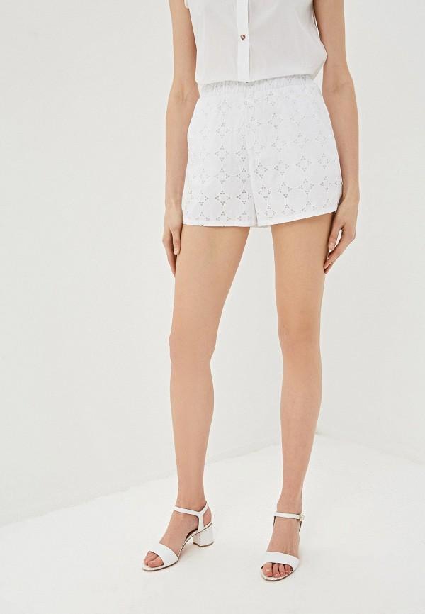 женские повседневные шорты alessandro dell'acqua, белые