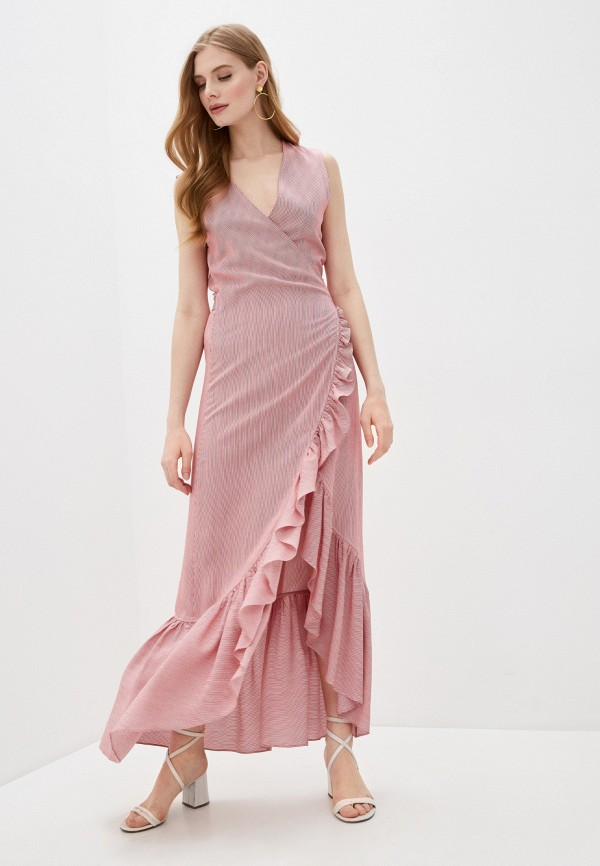 женское платье alessandro dell'acqua, красное