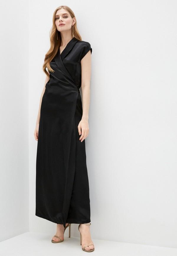 женское платье alessandro dell'acqua, черное