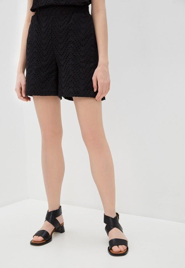 женские повседневные шорты alessandro dell'acqua, черные