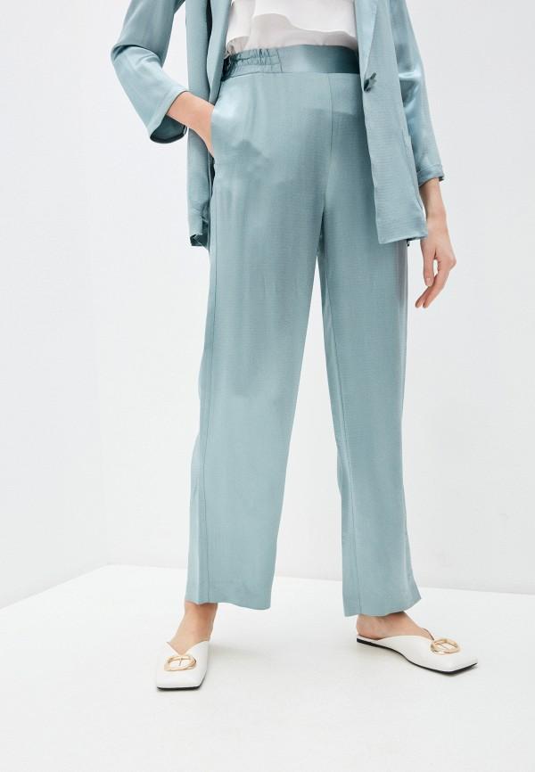 женские повседневные брюки alessandro dell'acqua, бирюзовые