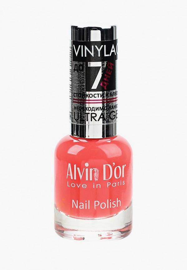женский лак для ногтей alvin d'or, красный
