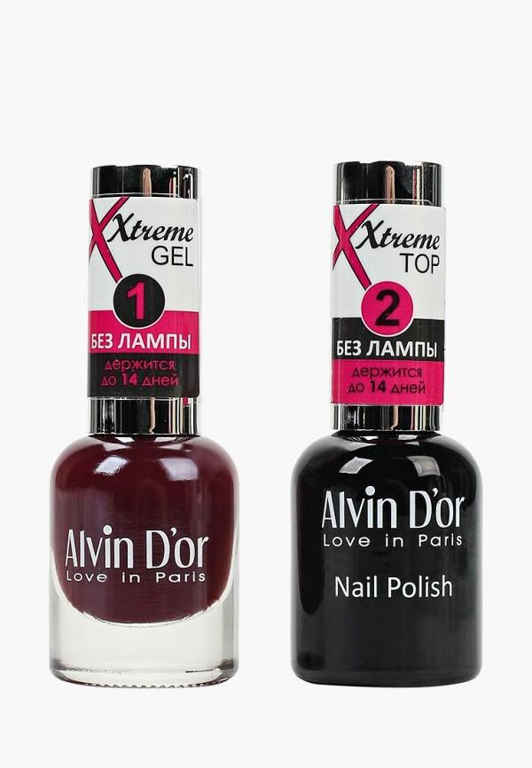 Набор лаков для ногтей Alvin D'or Alvin D'or AL057LWCLRV1 набор лаков для ногтей alvin d or alvin d or al057lwclrv1