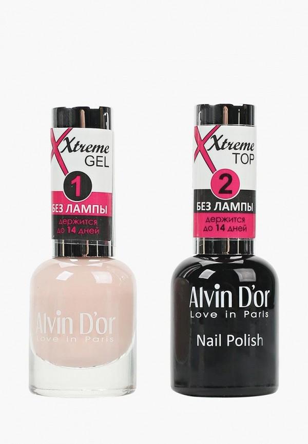 Набор лаков для ногтей Alvin D'or Alvin D'or AL057LWCLRV2 набор лаков для ногтей alvin d or alvin d or al057lwclrv1