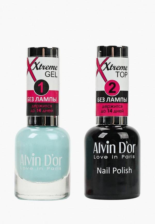 Набор лаков для ногтей Alvin D'or Alvin D'or AL057LWCLRV4 набор лаков для ногтей alvin d or alvin d or al057lwclrv1