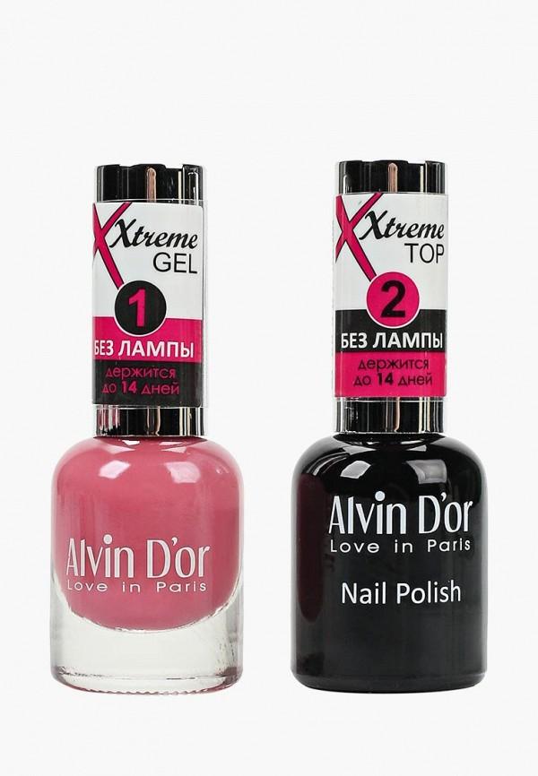 Набор лаков для ногтей Alvin D'or Alvin D'or AL057LWCLRV7 jinsoon набор лаков для ногтей goop x classics2 3x11ml