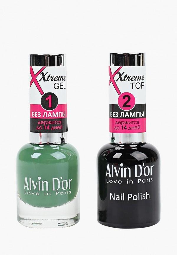 Набор лаков для ногтей Alvin D'or Alvin D'or AL057LWCLRV8 набор лаков для ногтей alvin d or alvin d or al057lwclrv1