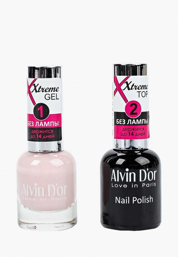 Набор лаков для ногтей Alvin D'or Alvin D'or AL057LWCLRV9 набор лаков для ногтей alvin d or alvin d or al057lwclrv1
