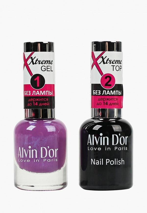 Набор лаков для ногтей Alvin D'or Alvin D'or AL057LWCLRW1 набор лаков для ногтей alvin d or alvin d or al057lwclrv1