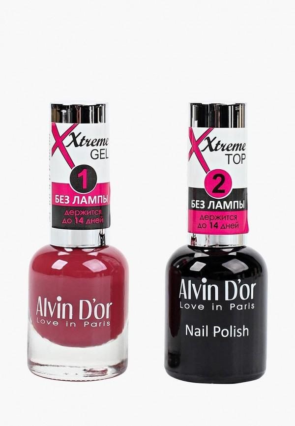 Набор лаков для ногтей Alvin D'or Alvin D'or AL057LWCLRW8 набор лаков для ногтей alvin d or alvin d or al057lwclrx1