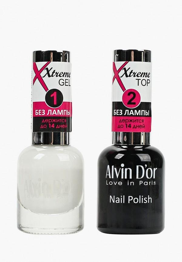 Набор лаков для ногтей Alvin D'or Alvin D'or AL057LWCLRX0 jinsoon набор лаков для ногтей goop x classics2 3x11ml