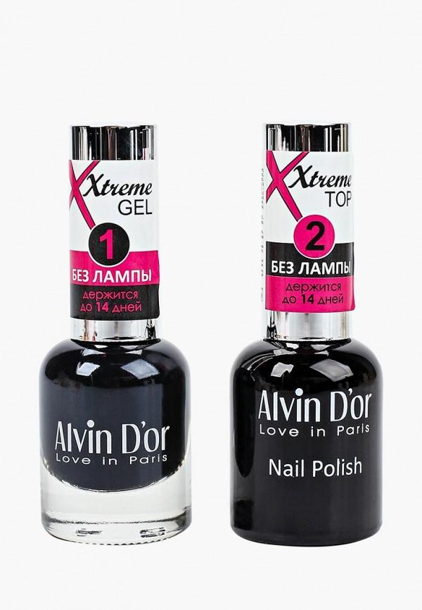 Набор лаков для ногтей Alvin D'or Alvin D'or AL057LWCLRX1 набор лаков для ногтей alvin d or alvin d or al057lwclrv1