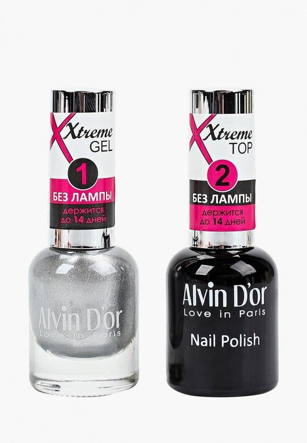 Набор лаков для ногтей Alvin D'or Alvin D'or AL057LWCLRX2 набор лаков для ногтей alvin d or alvin d or al057lwclrv1