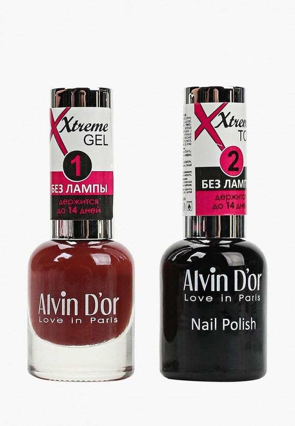 Набор лаков для ногтей Alvin D'or Alvin D'or AL057LWCLRX4 набор лаков для ногтей alvin d or alvin d or al057lwclrv1