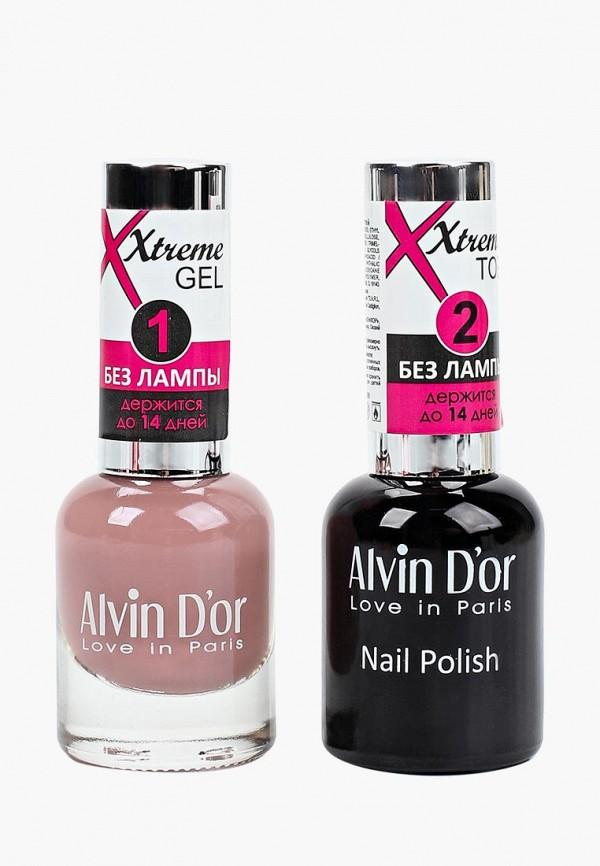 Набор лаков для ногтей Alvin D'or