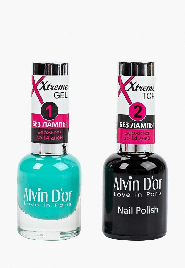 Набор лаков для ногтей Alvin D'or Alvin D'or AL057LWCLRX7 набор лаков для ногтей alvin d or alvin d or al057lwclrv1