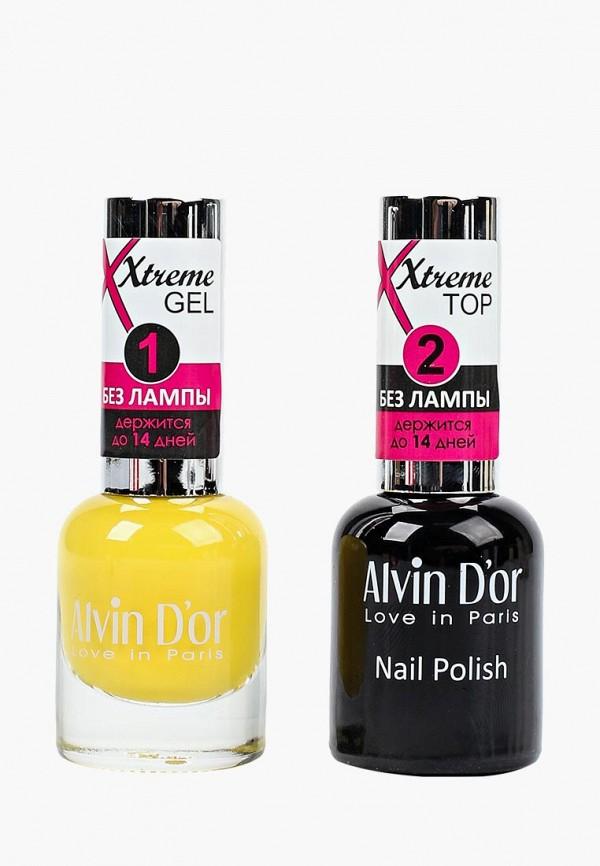 Набор лаков для ногтей Alvin D'or Alvin D'or AL057LWCLRX8 набор лаков для ногтей alvin d or alvin d or al057lwclrv1