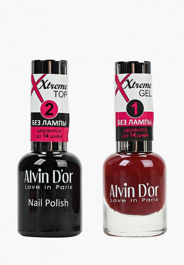 Набор лаков для ногтей Alvin D'or Alvin D'or AL057LWCLRY0 набор лаков для ногтей alvin d or alvin d or al057lwclrv1