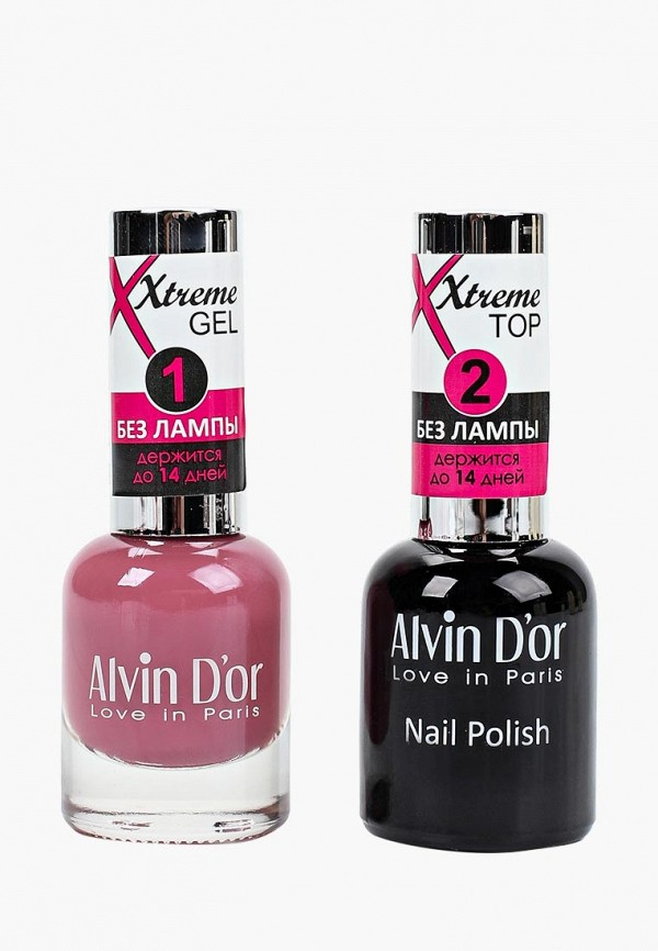 Набор лаков для ногтей Alvin D'or Alvin D'or AL057LWCLRY3 jinsoon набор лаков для ногтей goop x classics2 3x11ml