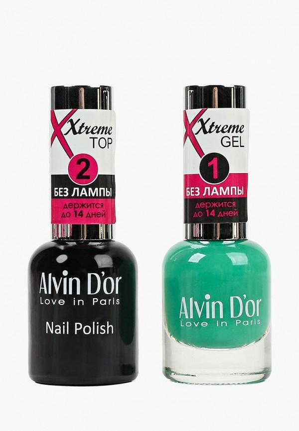 Набор лаков для ногтей Alvin D'or Alvin D'or AL057LWCLRY5 набор лаков для ногтей alvin d or alvin d or al057lwclrx1