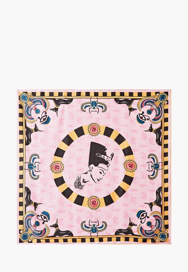 женский платок alber zoran, розовый