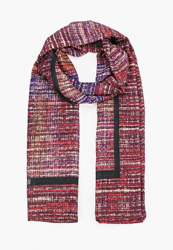 женский шарф alber zoran, бордовый
