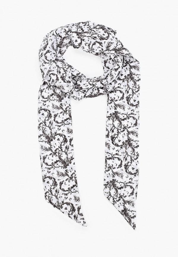 женский шарф alber zoran, белый