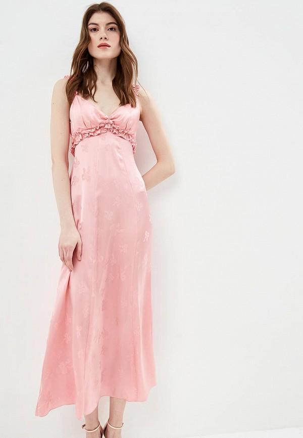 женское повседневные платье alexachung, розовое