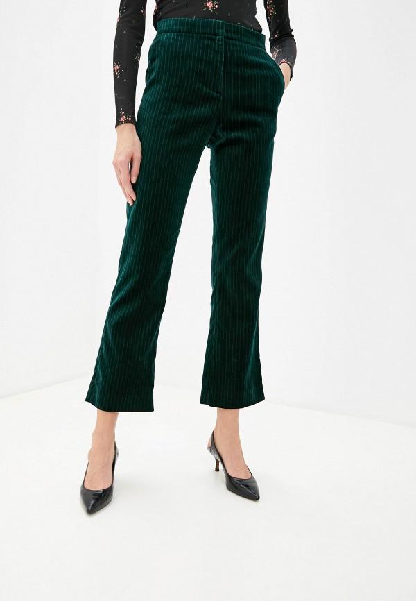 женские повседневные брюки alexachung, зеленые
