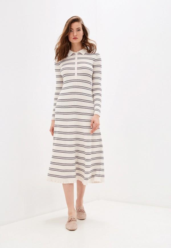 женское платье alexachung, белое