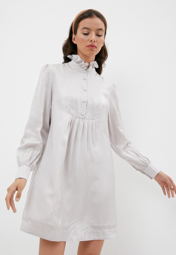 Платье AlexaChung AlexaChung DR11-VI532 серый фото