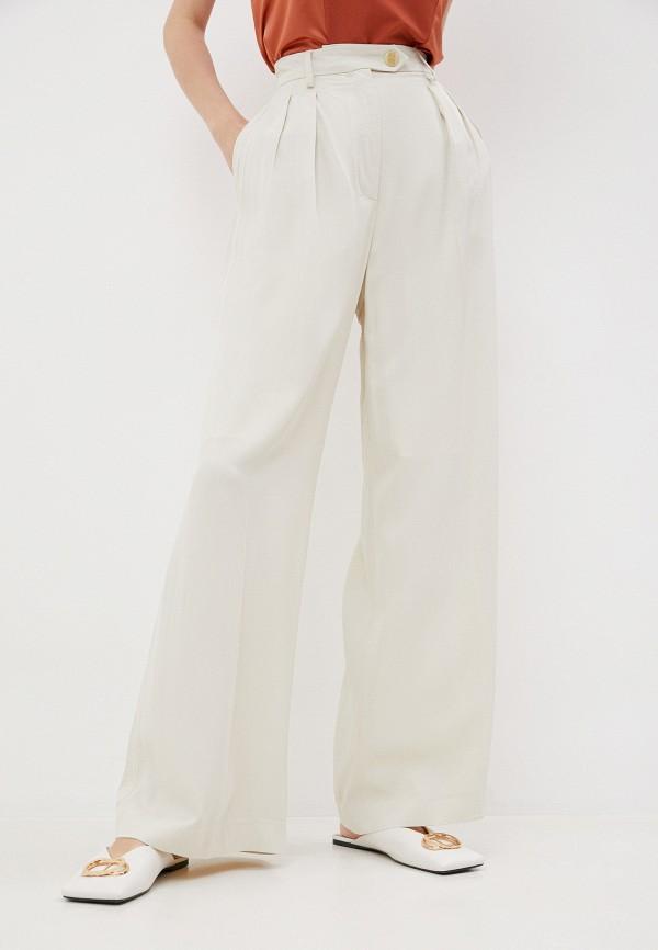 женские повседневные брюки alexachung, бежевые