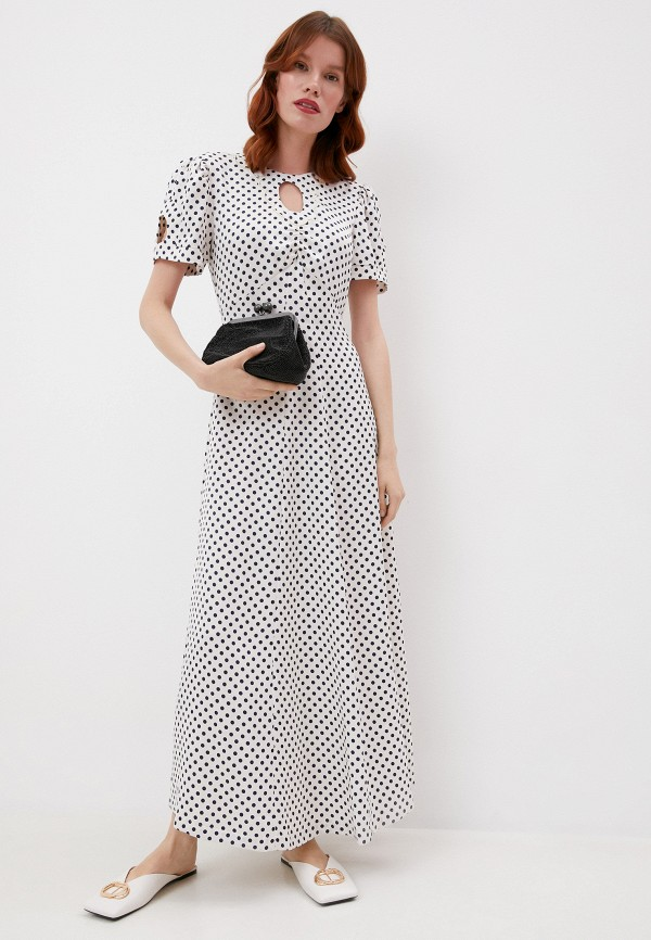 женское повседневные платье alexachung, бежевое
