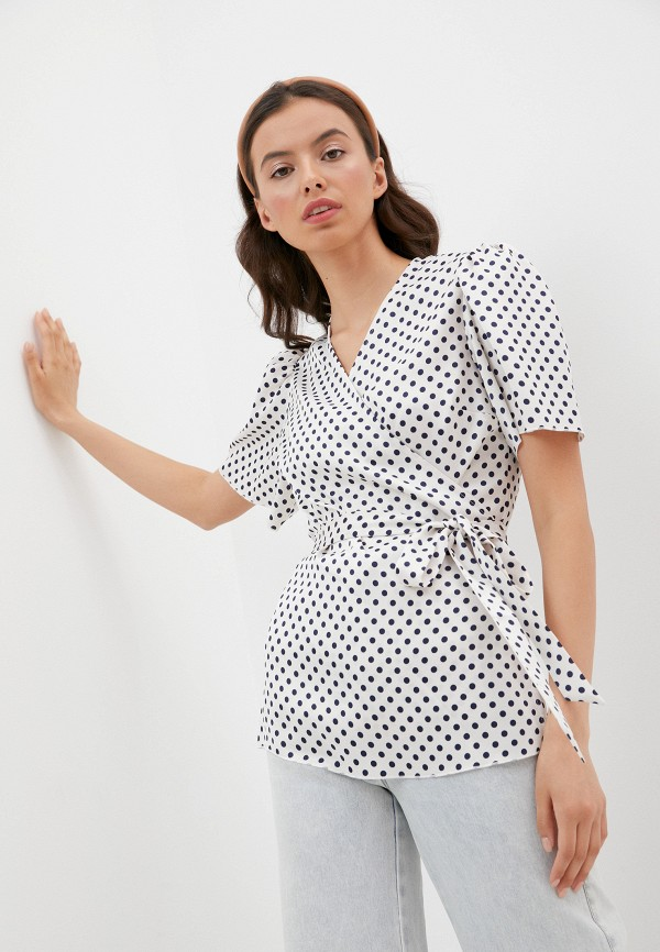 женская блузка alexachung, бежевая