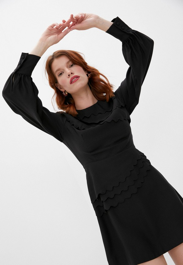 женское повседневные платье alexachung, черное