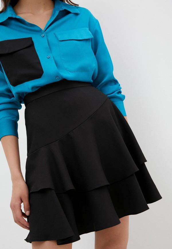 женская юбка alexachung, черная
