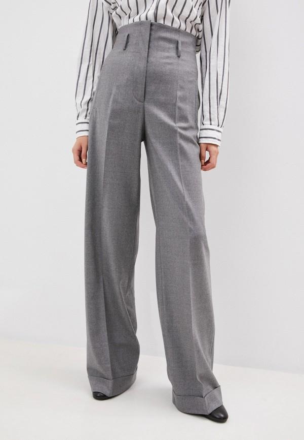 женские классические брюки alberta ferretti, серые